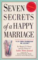 Seven Secrets of A Happy Marriage