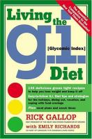 Living the Gi (glycemic Index) Diet