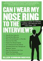 Can I Wear My Nose Ring to the Interview?