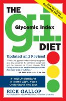 The G.I. (glycemic Index) Diet