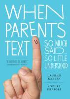 When Parents Text