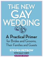 Steven Petrow's Gay and Lesbian Weddings and Commitment Ceremonies