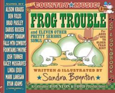 Cover image for Sandra Boynton's Frog Trouble