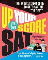 Up Your Score SAT 2018-2019