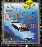 I Didn't Know That Some Cars Can Swim