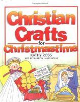 Christian Crafts For Chrismastime