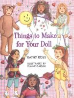 Things to Make for your Doll