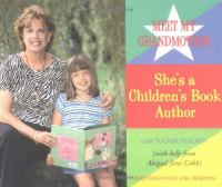 Meet My Grandmother, She's A Children's Book Author