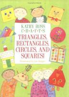 Kathy Ross Crafts