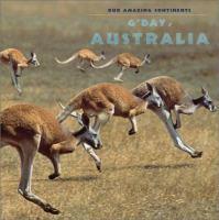 G'day, Australia!