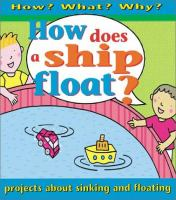 How Does A Ship Float?