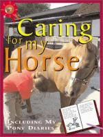Caring for My Horse