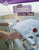 Put Levers to the Test