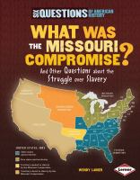 What Was the Missouri Compromise?
