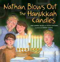 Nathan Blows Out the Hanukkah Candles