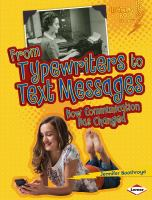 From Typewriters to Text Messages