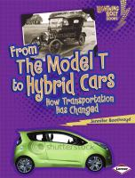 From the Model T to Hybrid Cars