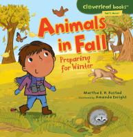 Animals in Fall