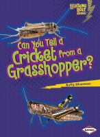 Can You Tell A Cricket From A Grasshopper?