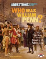 Who Was William Penn?