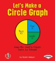 Let's Make A Circle Graph