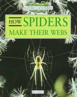 How Spiders Make Their Webs