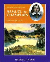 Samuel De Champlain, Explorer of Canada