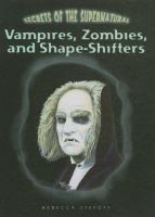 Vampires, Zombies, and Shape-shifters