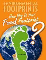 How Big Is your Food Footprint?