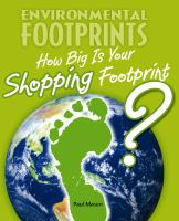 How Big Is your Shopping Footprint?