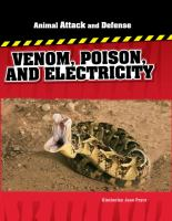 Venom, Poison, and Electricity
