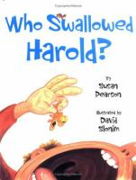 Who Swallowed Harold? and Other Poems About Pets