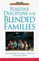 Positive Discipline for Blended Families