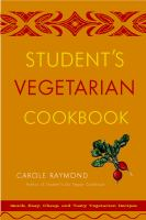 Student's Vegetarian Cookbook