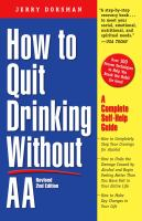 How to Quit Drinking Without AA