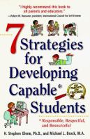 7 Strategies for Developing Capable* Students