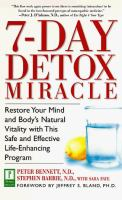 7-day Detox Miracle