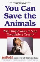 You Can Save the Animals