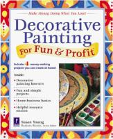 Decorative Painting for Fun & Profit