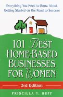 101 Best Home-based Businesses for Women