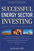 Successful Energy Sector Investing