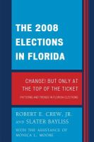 The 2008 Elections in Florida