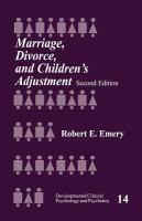 Marriage, Divorce, and Children's Adjustment