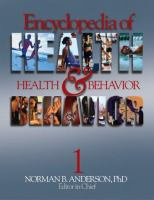 Encyclopedia of Health & Behavior