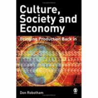 Culture, Society, and Economy