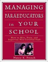 Managing Paraeducators in your School