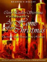 Carol Endler Sterbenz at Home for Christmas