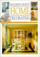 Reader's Digest Home Decorating