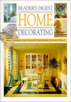 Reader's Digest Home Decorating