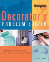 The Decorator's Problem Solver